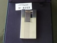 S.T.Dupont D - Light Lighter - High Tech Brushed Palladium  - Comes Boxed