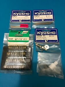 KYOSHO LOT OF PARTS FOR SUPERTEN 4WD FW03 FW04