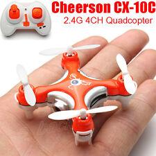 Cheerson CX-10C 2.4G 4CH 6 Achsen-LED-RC Quadcopter-Drohne mit Kamera-RTF Drone