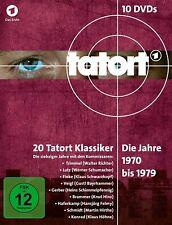 TATORT - 70ER BOX-KOMPLETT (1970-1979)  10 DVD NEU  W.RICHTER/W.SCHUMACHER/+