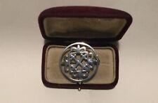 Sterling Silver Celtic Brooch.
