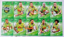 NRL 2018 Trading Cards Canberra Raiders full set of 10
