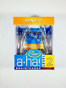 Wing It A-HA Brain Teaser Challenge Puzzle by ThinkFun NEW Free Shipping