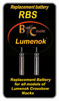 Lumenok BR 425 Replacement Battery for Crossbow Bolt Ends Pack of 2 RBS