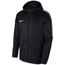 fdc00a807283 Nike Men Dry Park 18 Rain Jacket - Black white white Large