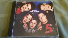 FIVE WHEN THE LIGHTS GO OUT 4 TRACK REMIX CD FREE SHIPPING