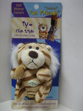 """TY"" Tiger Fun Friends Plush Flip-style Cell Phone Cover NEW"