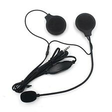 3.5mm Gegensprechanlage Motorrad Helm Weich Multi Intercom headset für MP3 Handy