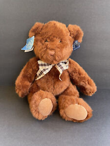 """RUSS BERRIE Everyone Loves To Get Applause - FLORAL - PLUSH 13"""" Bear No. 49571"""