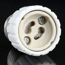 E27 to GU10 Extend Base LED CFL Light Bulb Lamp Adapter Converter Socket IT