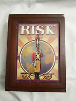 Risk Vintage Game Collection Wooden Collector Box Book Shelf 2009