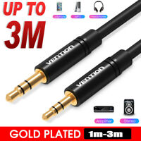 3m Vention 3.5mm Male to 2.5mm Male Aux Jack Audio Cable Cord Adapter Converter