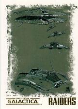 The Complete Battlestar Galactica Matt Busch Artifex Card N5 Raiders