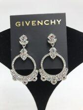 $58 Givenchy silver tone Orbital Drop earrings JG1