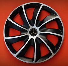 15'' Wheel trims Hub Cups for Mercedes Vito A class 4 x 15'' black/silver