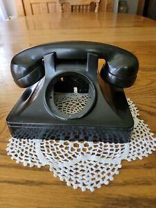 1940's North Electric Corded Bakelite Desk Telephone Shell