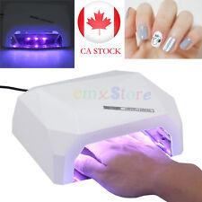 Timer 36W Art Acrylic Nail Lamp LED UV Gel Nail Dryer Polish Curing Light Auto