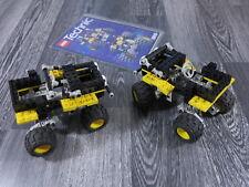 LEGO TECHNIK 8816 Geländewagen/Wagen/Jeep/Autos 2-Stück mit Bauanleitung