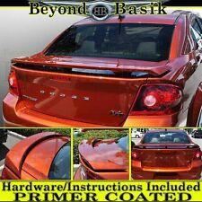 2008-2014 Dodge Avenger ABS Factory Style Spoiler Fin Wing PRIMER color