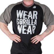 🦍UK S. Genuine Gorilla Wear Colorado Oversized T-Shirt Black/Grey. New+tags.