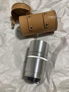 Argus Cintagon (Steinheil Munchen) 100mm f4.5 lens Leather Case