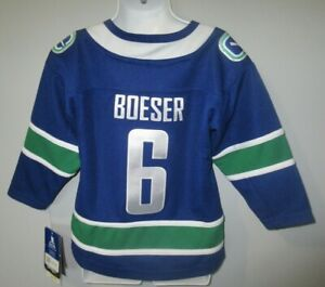 NWT Child's Toddler Boys Brock Boeser Vancouver Canucks NHL Hockey Jersey 2T-4T