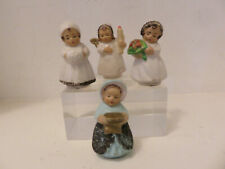 Christmas Ornaments - Antique - West Germany - Micah - S/4