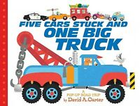 Five Cars Stuck and One Big Truck : A Pop-Up Road Trip, Hardcover by Carter, ...