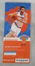 2013 New York Knicks Vs Detroit Pistons Ticket stub 1/7/14