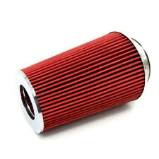 3 inch Car Long Ram Cold Air Intake Filter Cone Air Filter Red  Decent