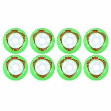 76mm Inline Skate Wheels by Trurev. ( 8 wheels)