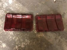 ford mustang 1967/68 Original Tail Lights Lenses