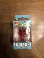 NEW Dr. Seuss: Fox in Socks Pocket POP Key Chain by Funko (N1)#