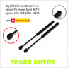 Qty(2) NEW Gas Struts Ford Falcon FG model boot WITH spoiler XR6 XR8 2008 - 2014