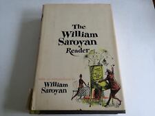 Vintage The William Saroyan Reader 1958 Stated 1st Edition Hardcover Dust Jacket