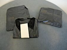 VINTAGE LOT OF 2 NOS ARAMIS THE CLASSIC SLICKER BLACK RAIN JACKET WITH CASES