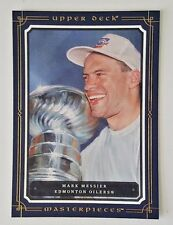 2008-09 UPPER DECK MASTERPIECES MARK MESSIER 5X7 BOXTOPPER OILERS XL-MM