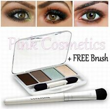COVER GIRL Exact Eyelights Eye Brightening EYESHADOW Quad 715 Majestic Hazels