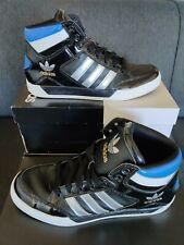 Adidas Hard Court Hi-Size UK 7.5 - Negro-Blanco-Azul
