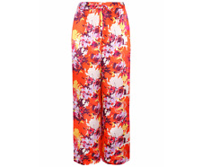 George Printed Palazzo Trousers & Animal Print Tapered Trousers Size UK10/EUR38