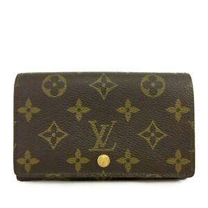 Louis Vuitton Monogram Porte Monnaie Billets Tresor Bifold Wallet /B1422