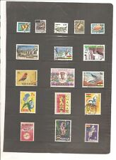 GHANA  SHEET OF 17  FINE USED STAMPS   (B)