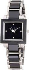 Kenneth Cole Women's KC4742  Classic Square Case with Ceramic Bezel Watch