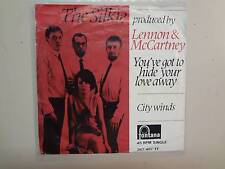 """SILKIE:(w/Beatles)You've Got To Hide Your Away-City Winds-Holland 7"""" Fontana PSL"""