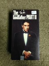 The Godfather Part Ii [Vhs] 1990 box god father 2