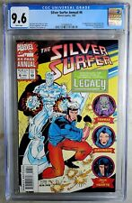 Silver Surfer Annual #6 Marvel 1993 1st Legacy CGC 9.6 NM+ WPages Comic Q0115