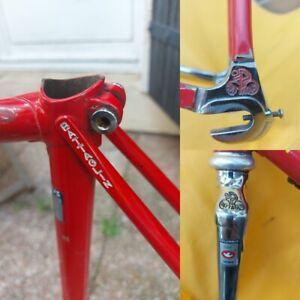 Cadre BATTAGLIN velo course Columbus CROMOR doppio spessore Frame racing bike
