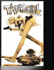 "IDW Tank Girl TPB ""the Gifting"" Martin/Woods; wacky comic, mature audience,sexy"