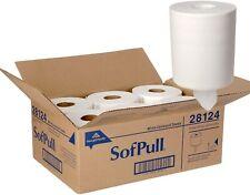 Georgia-Pacific SofPull Centerpull Regular Capacity Paper Towels 6 Rolls 28124