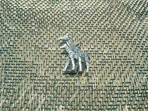 AFRICAN ZOO ANIMAL 6 GIRAFFE with BABY 3D PEWTER CHARMS ALL NEW